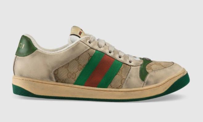 factory authentic run shoes stable quality Scarpe griffate trattate per sembrare sporche: costano 690 ...
