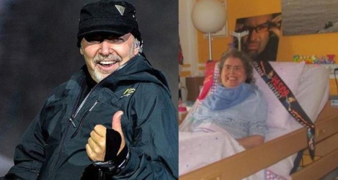 Vasco Rossi regala un biglietto alla fan malata di sclerosi multipla