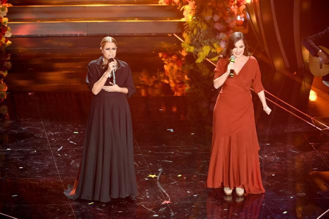 Tosca vince la gara delle cover di Sanremo 2020 con Piazza Grande di Lucio Dalla