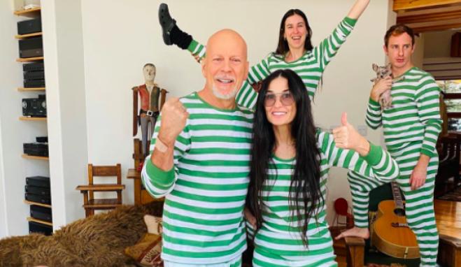 Bruce Willis e Demi Moore: quarantena insieme