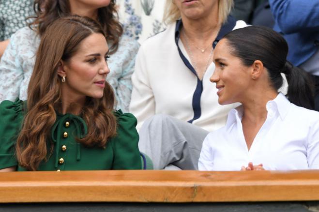 Kate e la rara smentita stampa in favore di Meghan