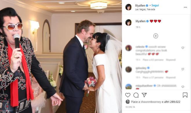 Lily Allen e David Harbour si sono sposati