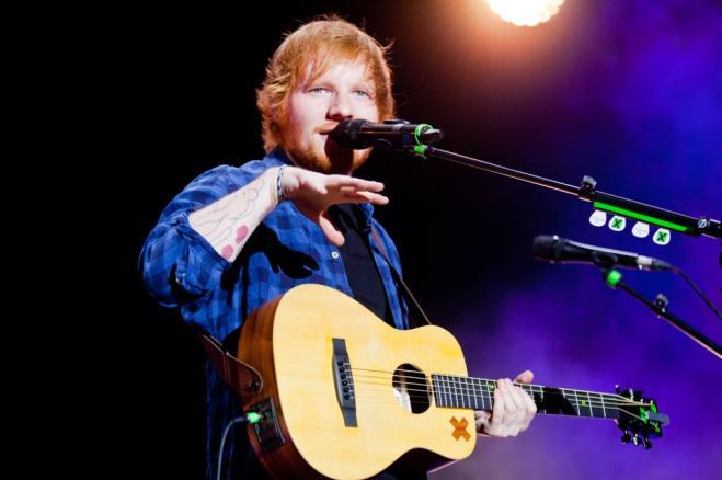 Ed Sheeran e il suo sosia