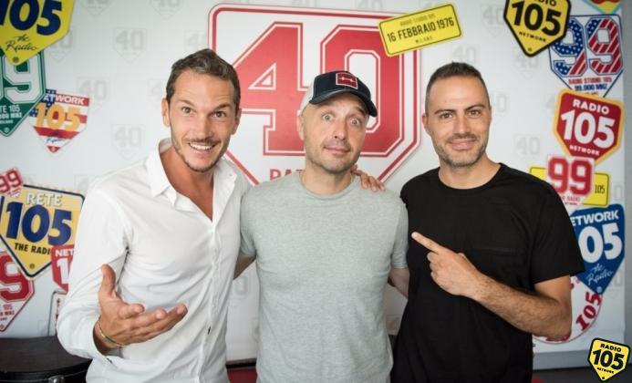 Joe Bastianich con Alvin e Daniele Battaglia, le foto