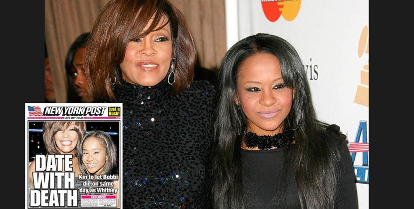 Addio a Bobbi Kristina, figlia di Whitney Houston