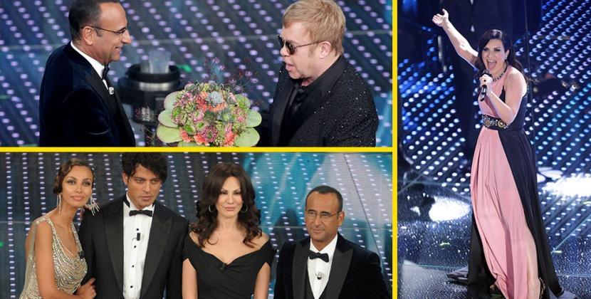 Elton John e Laura Pausini stelle di un Sanremo.. arcobaleno!