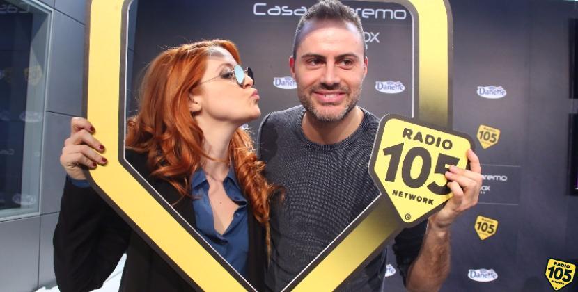 Noemi a Casa Sanremo con Daniele Battaglia: guarda le foto