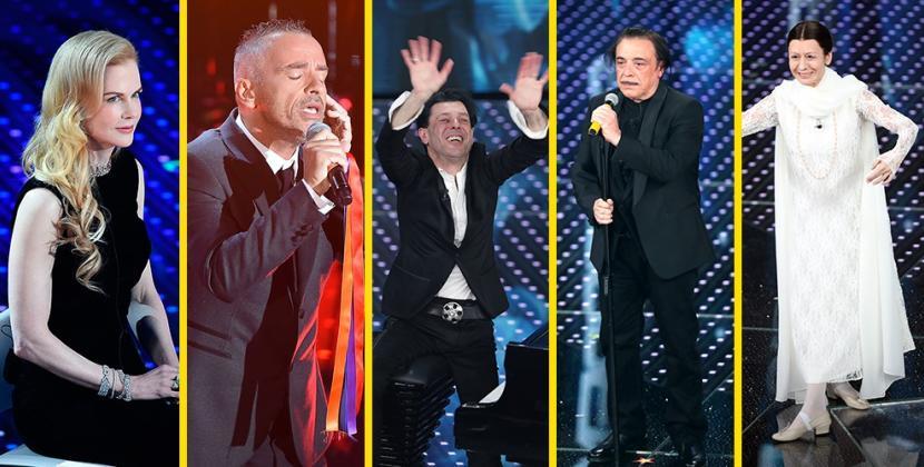 E' il Sanremo delle emozioni con la divina Kidman, Nino Frassica e il pianista e compositore malato di SLA Ezio Bosso