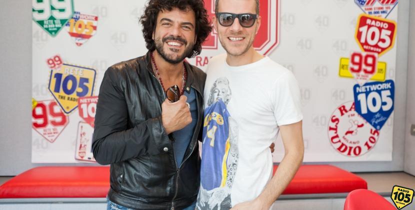 Francesco Renga a 105 Mi Casa: guarda le foto
