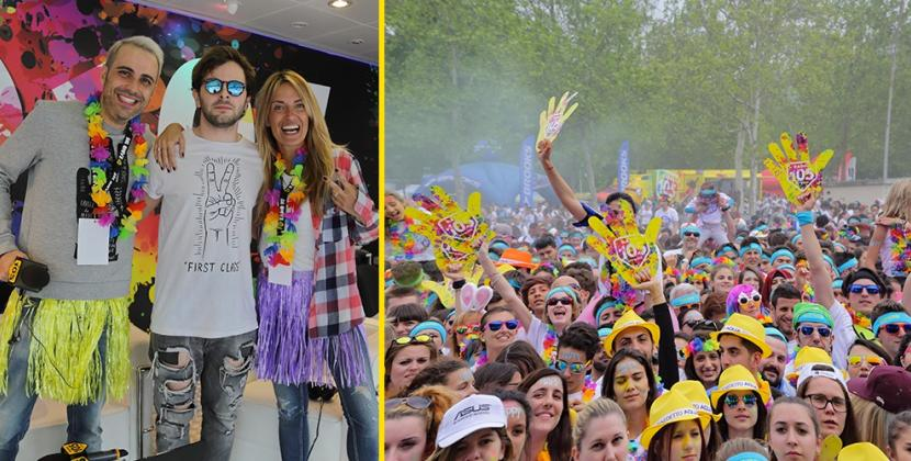 The Color Run: prima tappa da record con Radio 105!