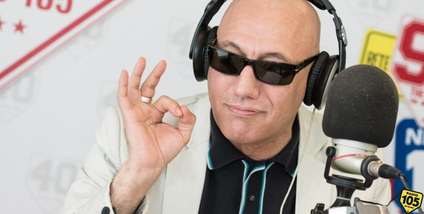 Giuliano Palma a 105 Mi Casa, le foto