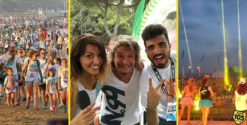 Eravamo in 15mila! Le immagini di Ylenia, Martin e Bryan alla Color Run di Lignano Sabbiadoro.