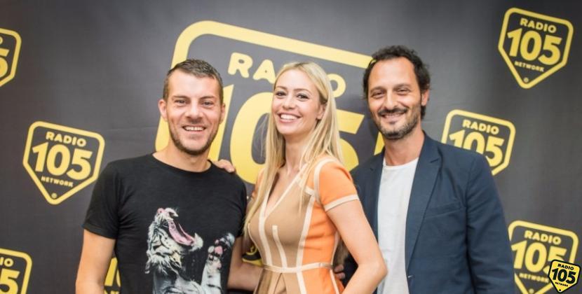 Martina Stella e Fabio Troiano a 105 Mi Casa, le foto