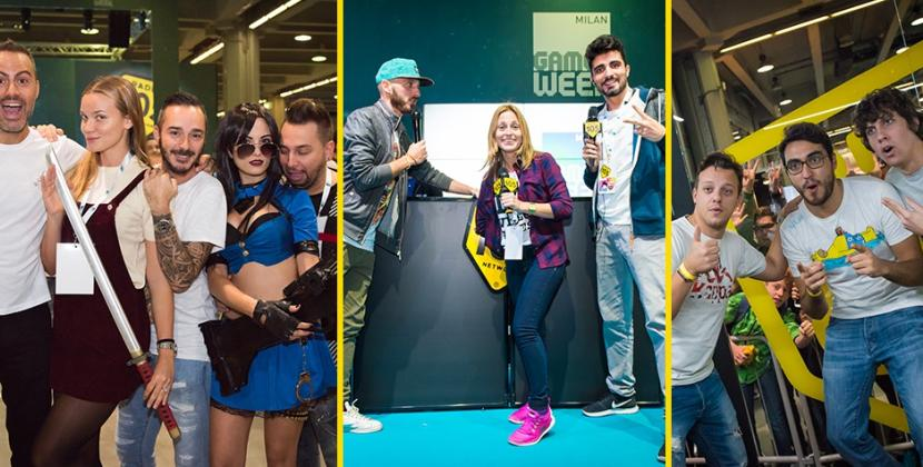 Radio 105 alla Milan Games Week 2016, le foto!
