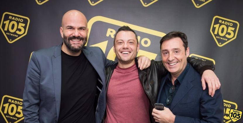 Tiziano Ferro a 105 Friends, le foto