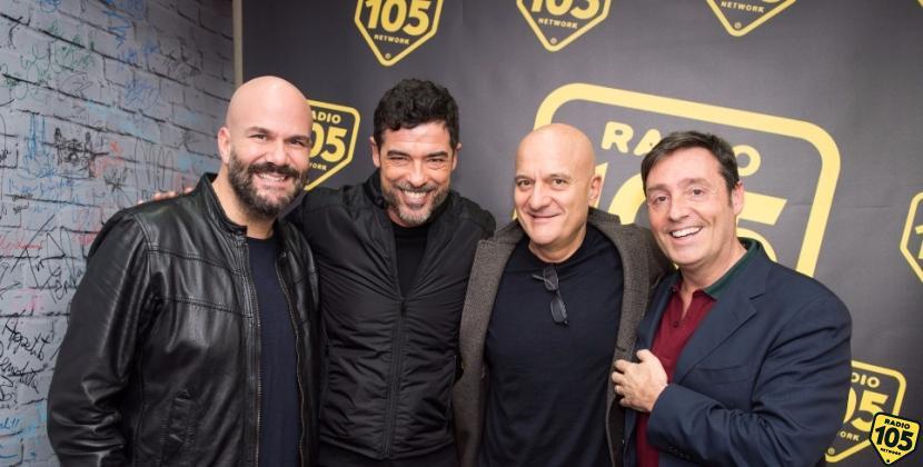 Alessandro Gassman e Claudio Bisio a 105 Friends, le foto