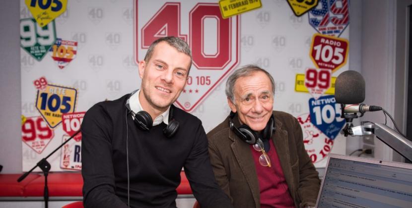 Roberto Vecchioni a 105 Mi Casa, le foto