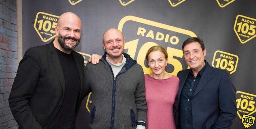 Leonardo Manera e Claudia Penoni a 105 Friends, le foto