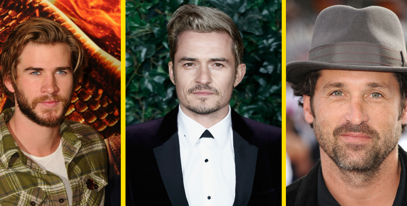Buon compleanno Liam, Orlando e Patrick, tre bellissimi di Hollywood