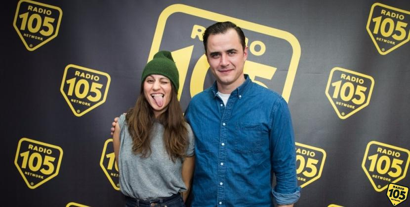 I Dragonette a Radio 105, le foto