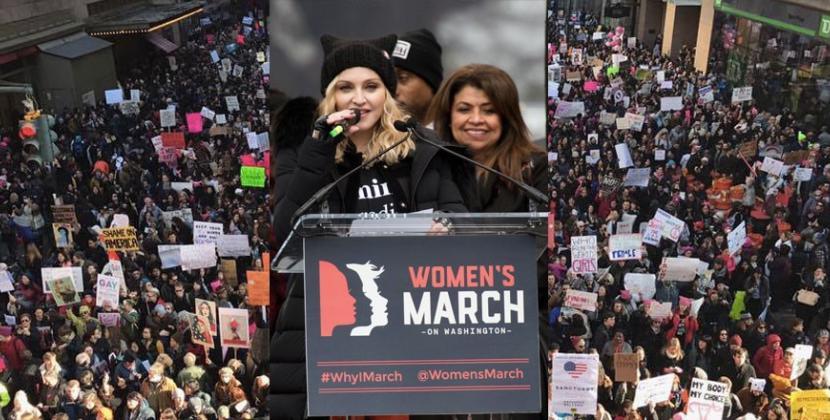 Marcia delle Donne: così l'America scende in piazza contro Trump