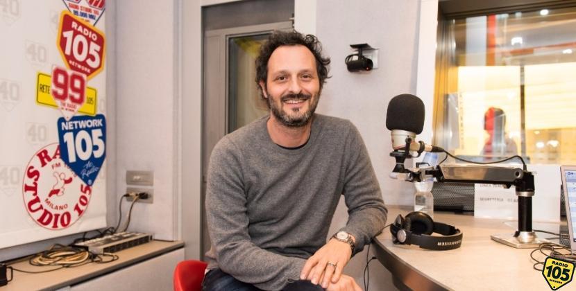 """Fabio Troiano, protagonista di """"Amore pensaci tu"""", a 105 Mi Casa: le foto"""