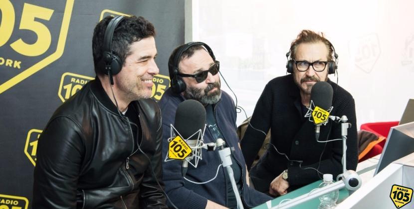 Alessandro Gassman, Marco Giallini e Massimiliano Bruno a 105 Friends, le foto