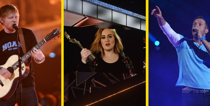Brit Awards: trionfo postumo per David Bowie, Coldplay e The Chainsmokers assieme sul palco
