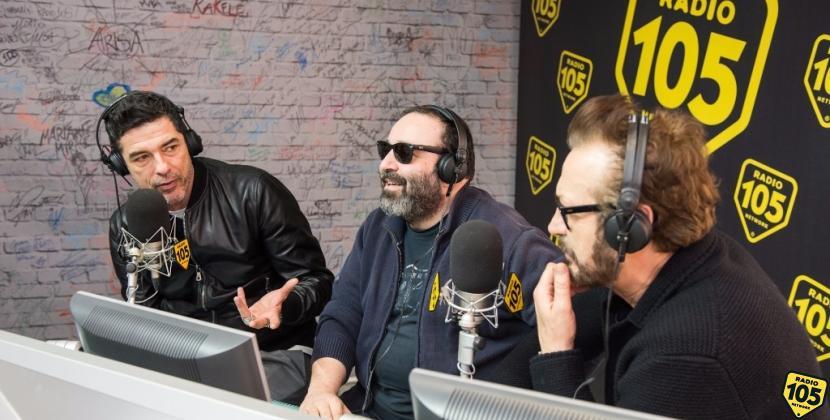 Alessandro Gassman, Marco Giallini e Massimiliano Bruno a 105 Mi Casa, le foto