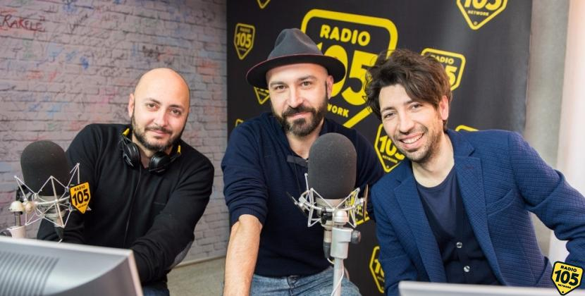 Maccio Capatonda, Herbert Ballerina e Ivo Avido a 105 Friends