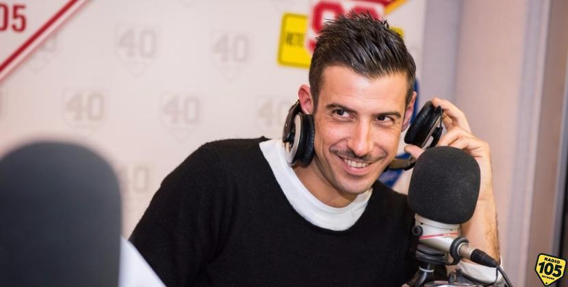 Francesco Gabbani a 105 Mi Casa, le foto