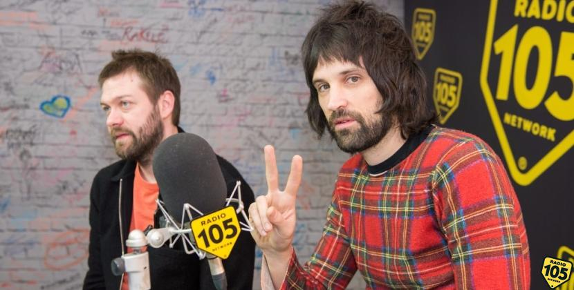 I Kasabian a 105 Friends, le foto