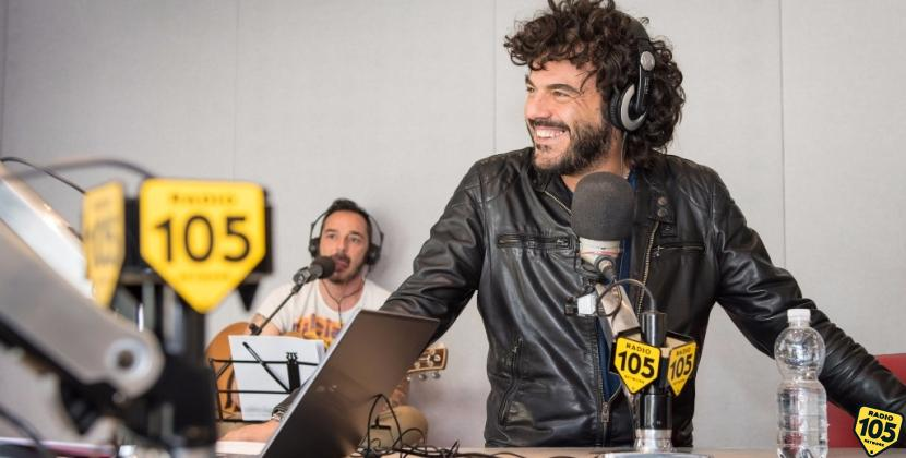 Francesco Renga a 105 Take Away, le foto