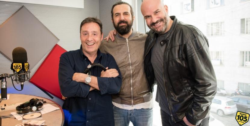 Omar Pedrini presenta il nuovo album a 105 Friends, le foto