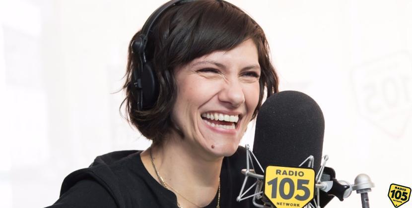 Elisa a 105 Mi Casa con Max Brigante: guarda le foto dell'intervista!
