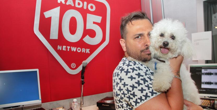 Anche a Radio 105 è la giornata mondiale dei cani in ufficio: ecco i nostri amici a 4 zampe!