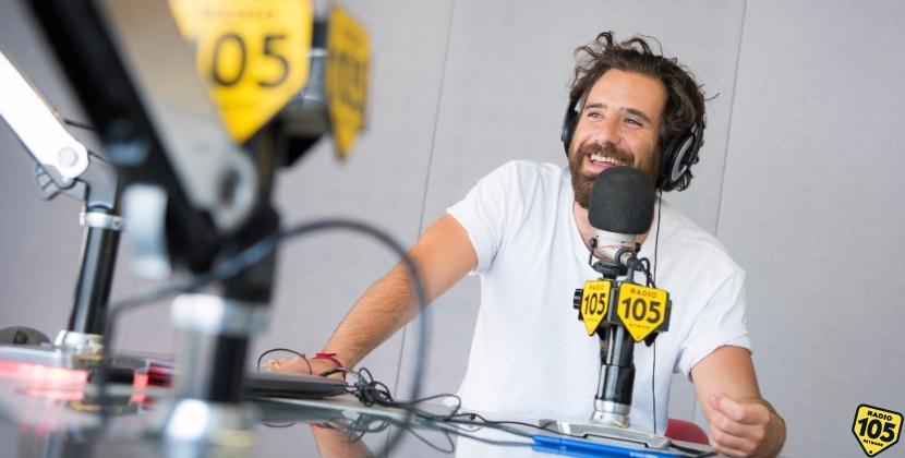 Tommaso Paradiso dei Thegiornalisti a 105 Mi Casa: guarda le foto!