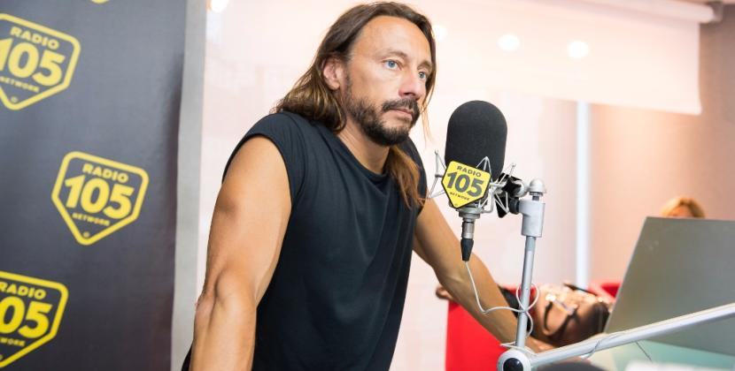 Bob Sinclar a 105 Friends: le foto dell'intervista