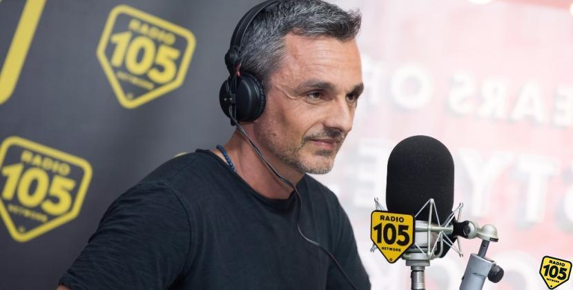"""Filippo Ongaro presenta """"Vivere a pieno"""" a 105 Mi Casa: le foto dell'intervista"""