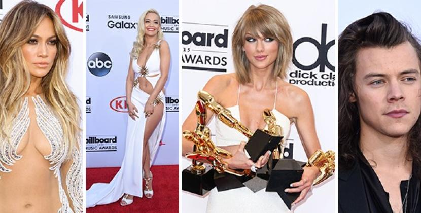 Billboard Awards 2015, trionfa Taylor Swift