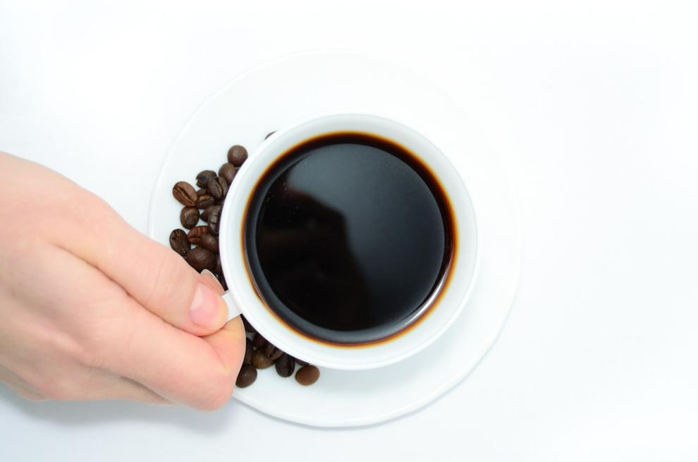7. Bere caffè nero