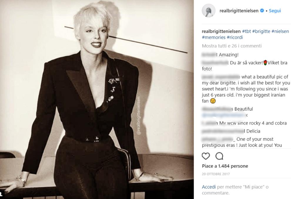 Brigitte nielsen sulla sedia a rotelle cosa successo for Film sedia a rotelle
