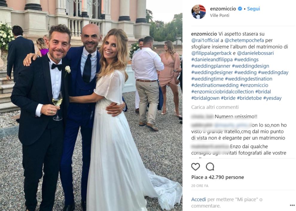 c3528f02635e Ecco tutti gli ospiti del matrimonio da favola di Daniele Bossari e ...