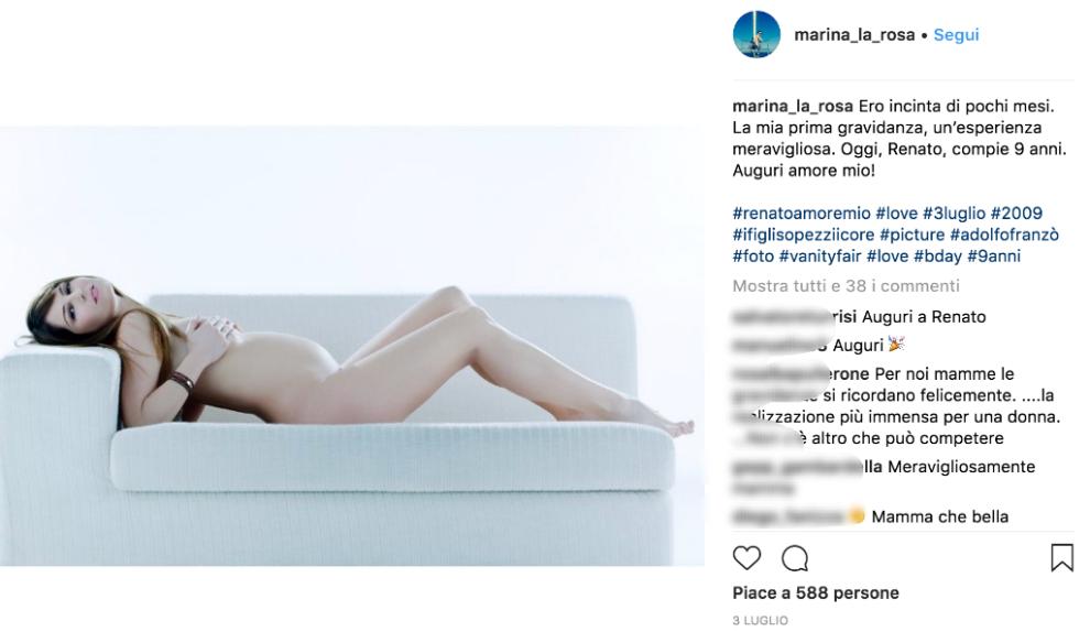 Marina La Rosa Calendario Max.Ecco Come E Oggi Marina La Rosa Scatti Super Hot 18 Anni