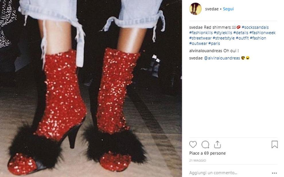Di E Nuova La Street StyleCalzini Sandali Cotone Tendenza Dello XZuiPkO