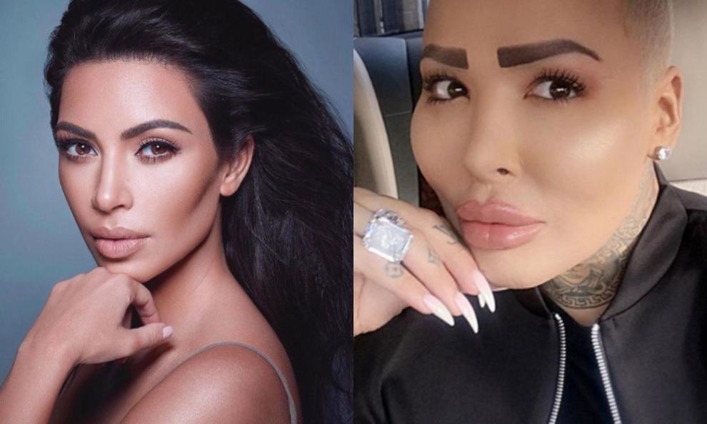 Il Kim Kardashian inglese