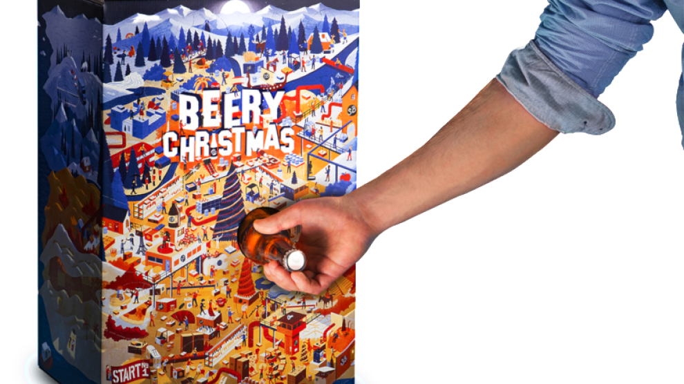 Calendario Avvento Birra.Beery Christmas Arriva Il Calendario Dell Avvento Per I