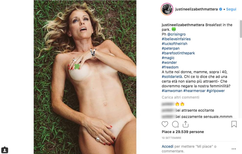 """designer fashion d3537 f1b8e Justine Mattera: """"Non poserò mai più senza mutande"""" - Foto 1 ..."""