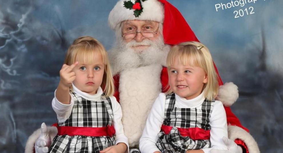Babbo Natale 105.5 Foto Con Babbo Natale Che Ti Faranno Morire Dal Ridere