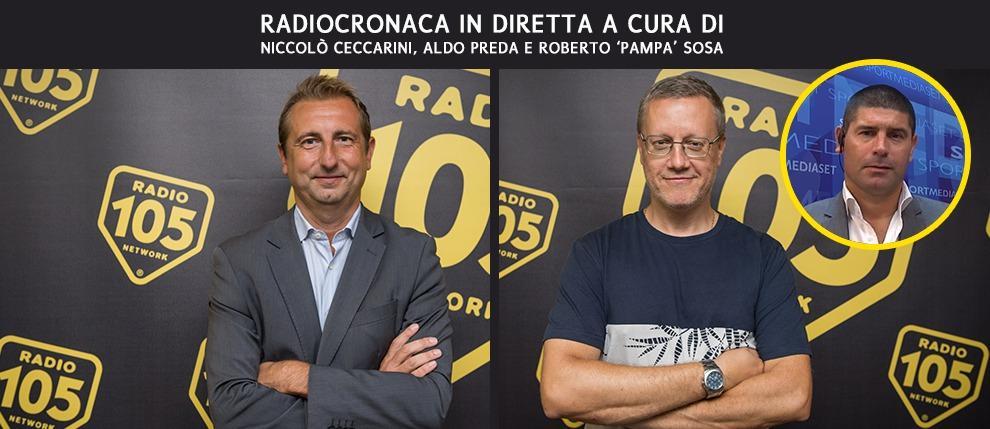 Martedì 27 e mercoledì 28 alle 20.20, la magia della Uefa Champions League è anche su Radio 105!